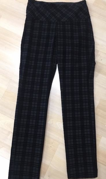 Up Pants Grid Illusion Pant