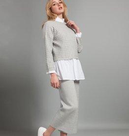 Pistache Pistache Waffle Knit Sweater