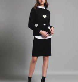 Pistache Pistache C20 Heart Sweater