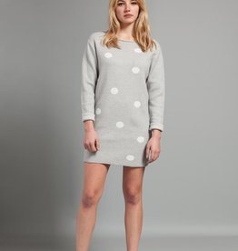 Pistache Pistache C19 Knitted Polka Dot Sweater/Dress