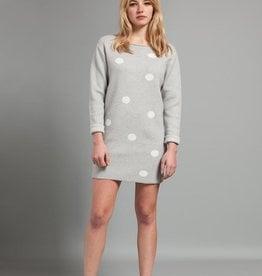 Pistache Pistache C19 Knitted Polka Dot Sweater/Dress