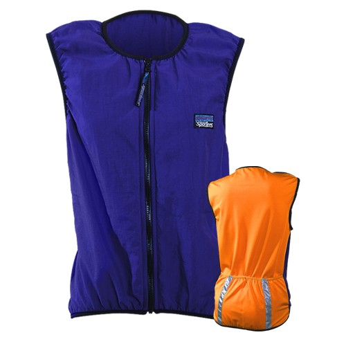 Sportees Sportees Athletic Cycling Vest Fit w/ Nylon Front & Lycra Back-Custom Made-Size M