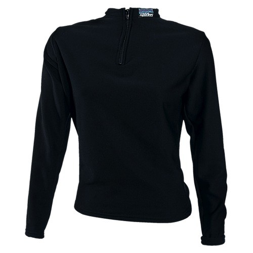 Sportees Athletic 4 Way Stretch Powerstretch Fleece Fitted Top