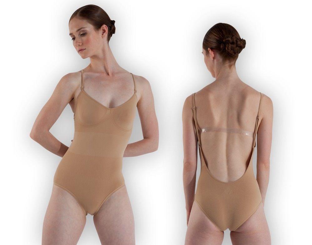 Bloch Aries L3137-S/M- Seamless Brief Bodysuit