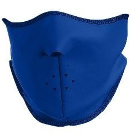 Sportees Aqua Shell Fleece Face Mask with velcro