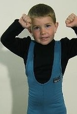 Sportees Children-4 Way Stretch Fleece Fitted Tights w/ Bib