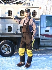 Sportees Sportees Fleece Lined Dog Musher Pants Waterproof Fabric w/ Bib- Custom made to your preferences and your needs-(Price goes up with each add on)