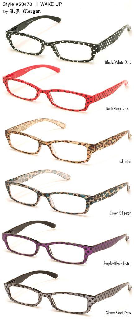 A.J. Morgan 53470-Wakeup-Glasses