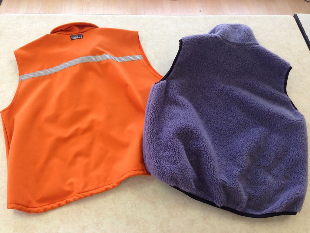 Sportees Athletic Fit Retro-X or Powersheild Fleece Vest