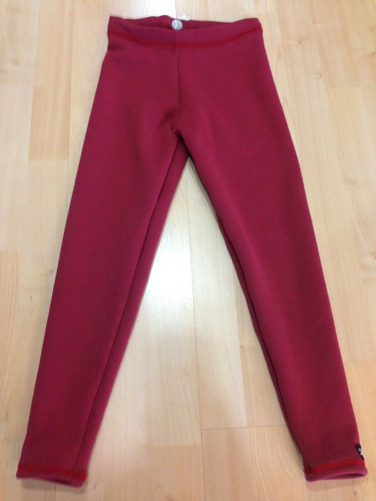 Sportees Sportees Children-Athletic Fit 4-Way Stretch Fleece Fitted Tights w/ Drawstring