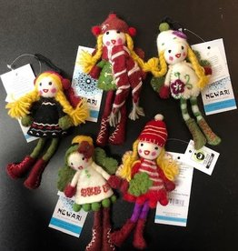 Icelandic Designs Newari Christmas Fairies