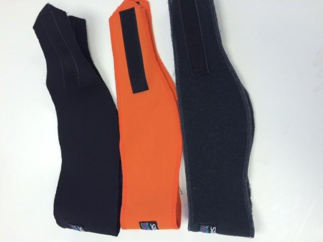 Sportees Sportees WindPro Fleece Headband w/ Velcro- One Size