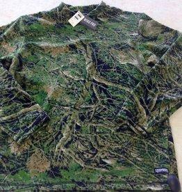 Sportees Camo Print Top - Windproof- Chamois- Fabric