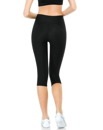 Spanx Spanx-550-Compression-Knee-Pant - fitted tights. Wear this compression knee pant on-the-go or for a jiggle-free look while you work out.
