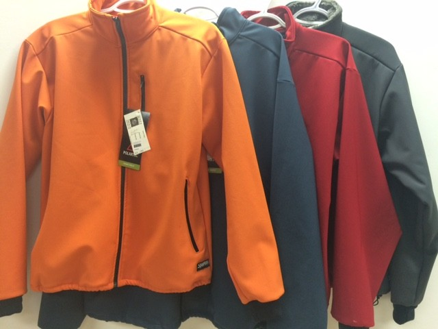 Sportees Sportees-Polartec Powersheild Lumi Jacket Waterproof Zips, Chest Pocket