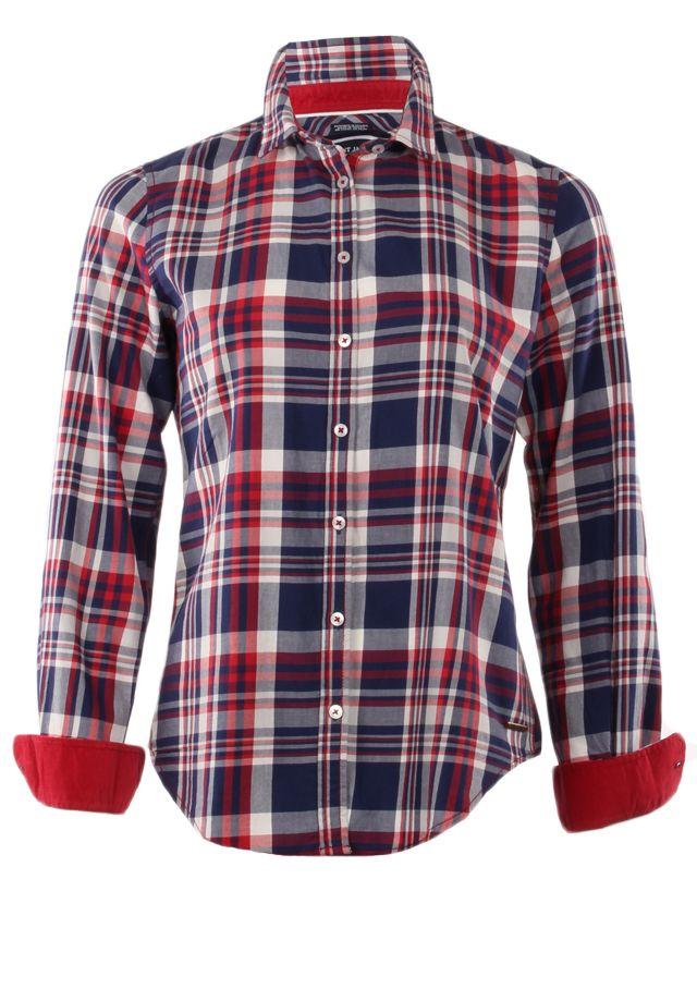 Saint James Saint James 9248-Ambre-ML-Ladies-Shirt