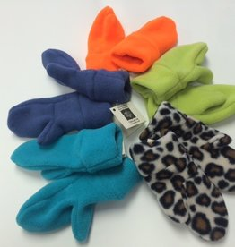 Sportees Sportees Doubled Lined/ WindBloc Fleece Mittens w/ Fleece Cuff-Size S