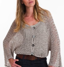 Pure Handknit Pure Handknit 4478-Museum-Crop-Cardigan   - ON SALE ! !