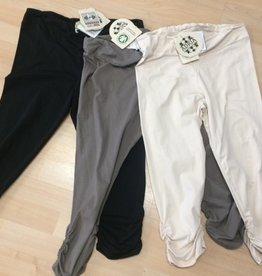 Adria Mode Billie-Organic-Cotton-Capri-Leggings