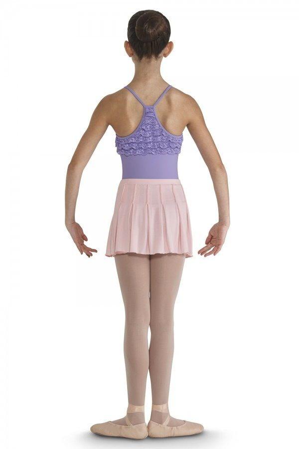Bloch CR9331-Bloch Pintuck Pleated Skirt