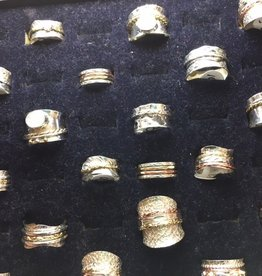 SS-Spinner Rings-Silver ADD PRICE