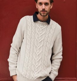 Saint James Saint James 2369 Men's Nancy Cable Knit Sweater