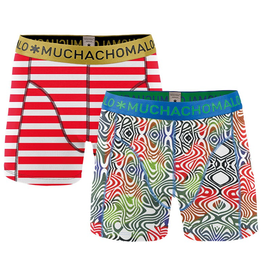 Muchachomalo Muchachomalo-Men's-Under-Shorts-Cotton 2 pack, CHAR2, S
