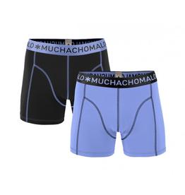 Muchachomalo Muchachomalo-Men's-Under-Shorts-Cotton 2 pack, BLUES, L