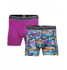 Muchachomalo Muchachomalo-Men's-Under-Shorts-Cotton 2 pack, CREATE, XXL