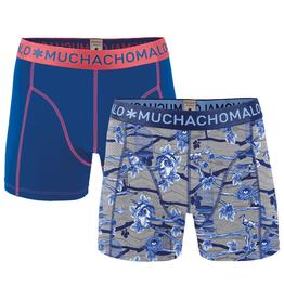 Muchachomalo Muchachomalo-Men's-Under-Shorts-Cotton 2 pack, NOSE1, S