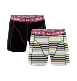 Muchachomalo Muchachomalo-Men's-Under-Shorts-Cotton 2 pack, ENGLISH6, M