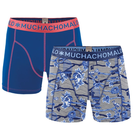 Muchachomalo Muchachomalo-Men's-Under-Shorts-Cotton 2 pack, NOSE1, M