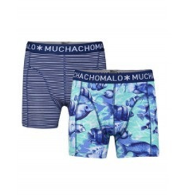 Muchachomalo Muchachomalo-Men's-Under-Shorts-Cotton-OCEAN-XL