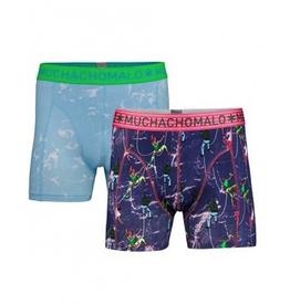 Muchachomalo Muchachomalo-Men's-Under-Shorts-Cotton 2 pack, SPORT, XXL