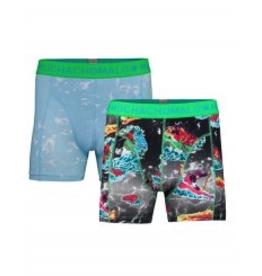Muchachomalo Muchachomalo-Men's-Under-Shorts-Cotton 2 pack, SPORT2, XXL