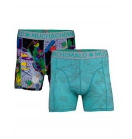 Muchachomalo Muchachomalo-Men's-Under-Shorts-Cotton 2 pack, HOLIDAY, XXL