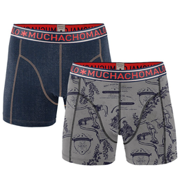 Muchachomalo Muchachomalo-Men's-Under-Shorts-Cotton-JEANS-S