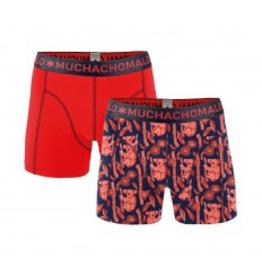 Muchachomalo Muchachomalo-Men's-Under-Shorts - 2 pack - Cotton/Modal, KOALA, M
