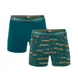 Muchachomalo Muchachomalo-Men's-Under-Shorts - 2 pack - Cotton/Modal, TRAIN, S