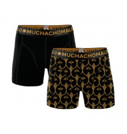 Muchachomalo Muchachomalo-Men's-Under-Shorts - 2 pack - Cotton/Modal, BEE, S