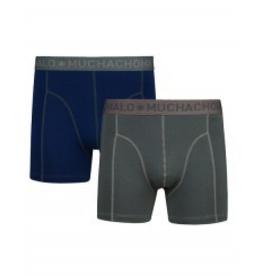 Muchachomalo Muchachomalo-Men's-Under-Shorts - 2 pack - Cotton/Modal, FOREST, L