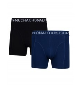 Muchachomalo Muchachomalo-Men's-Under-Shorts - 2 pack - Cotton/Modal, NIGHT2, L