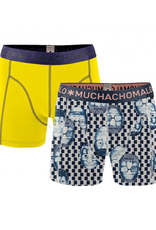 Muchachomalo Muchachomalo-Men's-Under-Shorts-Cotton-EMOTION06-XL