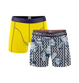 Muchachomalo Muchachomalo-Men's-Under-Shorts-Cotton-EMOTION06-XL