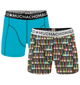 Muchachomalo Muchachomalo-Men's-Under-Shorts-Cotton 2 pack, CLASSIC2, S
