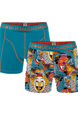 Muchachomalo Muchachomalo-Men's-Under-Shorts-Cotton-FEAR01-XL