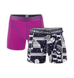 Muchachomalo Muchachomalo-Men's-Under-Shorts-Cotton-SAMI6-S