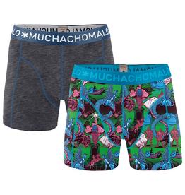 Muchachomalo Muchachomalo-Men's-Under-Shorts-Cotton-NEVER1-S