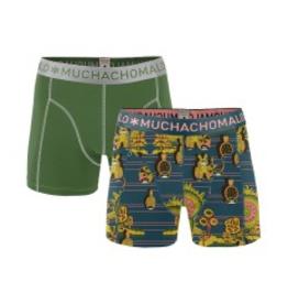 Muchachomalo Muchachomalo-Men's-Under-Shorts-Cotton 2 pack, RABBIT, L