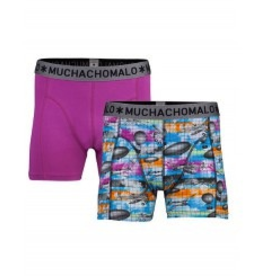 Muchachomalo Muchachomalo-Men's-Under-Shorts-Cotton 2 pack, CREATE, M